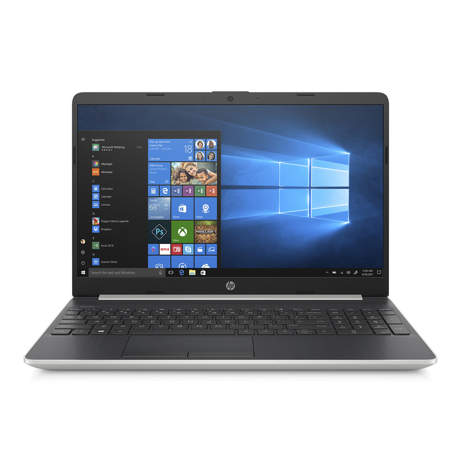 "HP 15-dw0021cl 15.6"" HD Laptop (Quad i5-8265U / 8GB / 256GB SSD)"