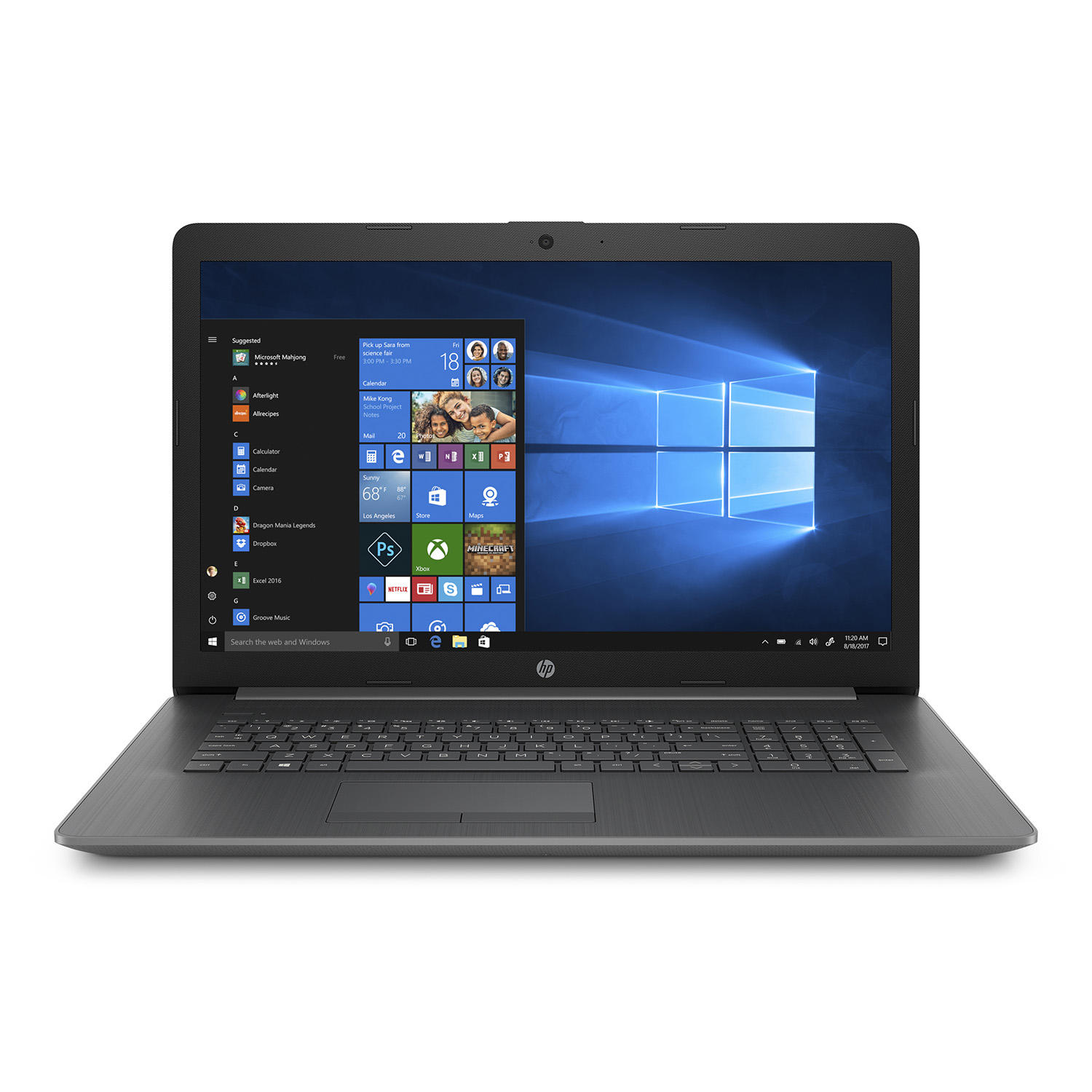 "HP 17-by1022cl 17.3"" HD+ Laptop (Quad i5-8265U / 8GB + 16GB Optane / 1TB)"