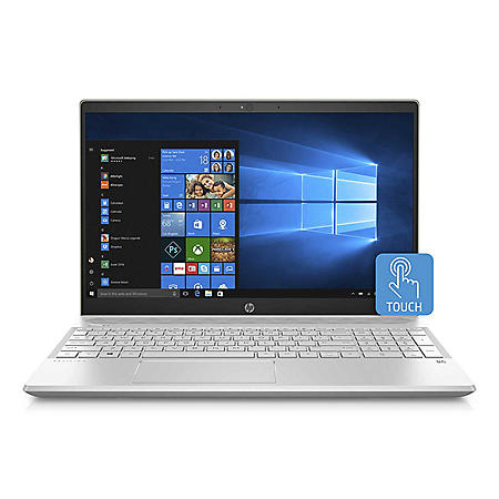 "HP Pavilion 15.6"" Full HD Touchscreen Laptop, Intel Core i7-8565U, 8GB Memory, 512GB SSD, Backlit Keyboard, 2 Year Warranty Care Pack, Windows 10 Home, Multiple Colors"