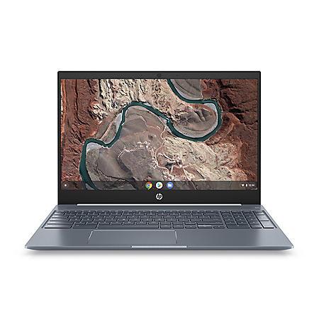 "HP 15.6"" FHD Touchscreen Chromebook, Intel Core i3-8130U Processor, 4GB Memory, 128GB eMMC, Backlit Keyboard, HD Wide Vision Webcam, Chrome OS"