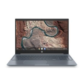 "HP 15.6"" FHD Touchscreen Chromebook, Intel Core i3-8130U Processor, 4GB Memory, 128GB eMMC, Backlit Keyboard, HD Wide Vision Webcam, Chrome OS"