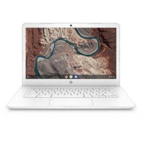 "HP 14"" HD Chromebook, AMD Dual Core A4 Processor, 4GB Memory, 32GB eMMC Storage, HP HD Webcam, 1-year Google One Free Trial, 2-Year HP Care Pack with Accidental Damage Protection"