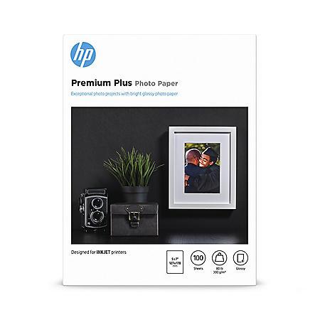 HP 5x7 Glossy Photo Paper, 100 Sheets