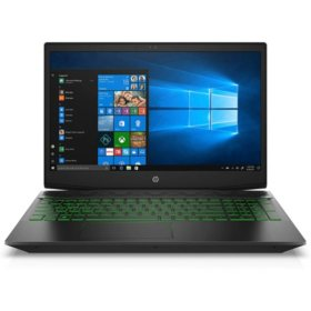 "HP Pavilion 15.6"" Gaming Laptop, AMD Ryzen 5 3550H Processor, 8GB RAM, 512GB SSD Storage, NVIDIA GeForce GTX 1050 Graphics, Backlit Keyboard, Windows 10 Home"