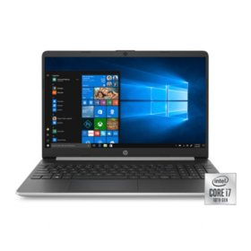 "HP 15.6"" HD Laptop, Intel Core i7-1065G Processor, 8GB Memory, 256GB SSD, Iris Plus Graphics, 2 Year Warranty Care Pack with Accidental Damage Protection, Windows 10 Home"