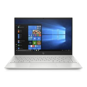 "HP ENVY 13.3"" Laptop, Intel Core i7-1065G7 Processor, 8GB RAM, 512GB SSD Storage, Intel Iris Plus Graphics, Backlit Keyboard, Windows 10 Home"