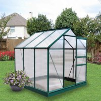 Deals on Member's Mark 6-ft x 6-ft Aluminum Powder Coated Greenhouse