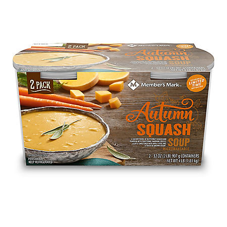 Member's Mark Autumn Squash Soup (2 pk.)