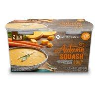 Member's Mark Autumn Squash Soup (32 oz.tub, 2 pk.)