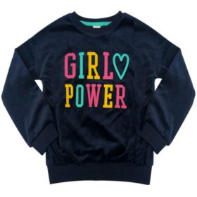Member's Mark Girl's Graphic Sweatshirt (Various Styles)