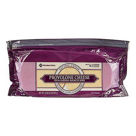 Members Mark Smoked Provolone Cheese (2 lbs.)