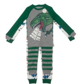 Member's Mark Boy's 4-Piece Cotton Pajama Set