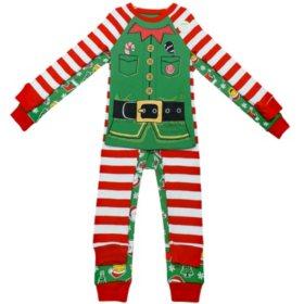 Member's Mark Boy's 4-Piece Cotton Pajama Set