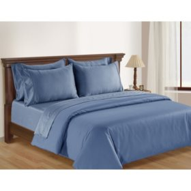 Hotel Premier Collection Egyptian Cotton Duvet Set by Member's Mark, 650-Thread-Count (Assorted Sizes and Colors)