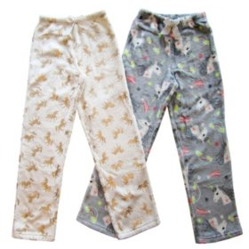 Member's Mark Girl's 2-Pack Pajama Pants (Various Styles)