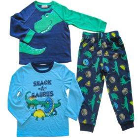 Member's Mark Boy's 3-Piece Fleece Pajama Set (Various Styles)
