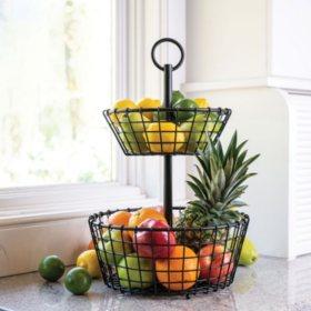 Member's Mark Wire Grid 2-Tier Basket
