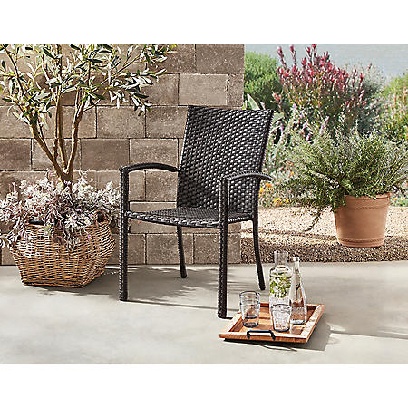 Member's Mark Stackable Woven Chair