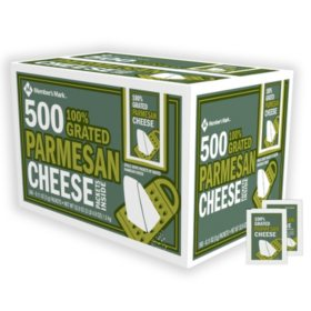 Member's Mark Grated Parmesan Cheese Packets, Bulk (500 ct.)