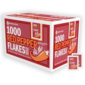 Member's Mark Crushed Red Pepper Packets, Bulk (1,000 ct.)