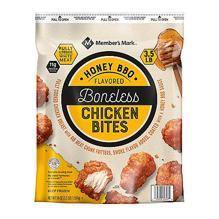 Member's Mark Honey Barbecue Boneless Chicken Bites (3.5 lbs.)