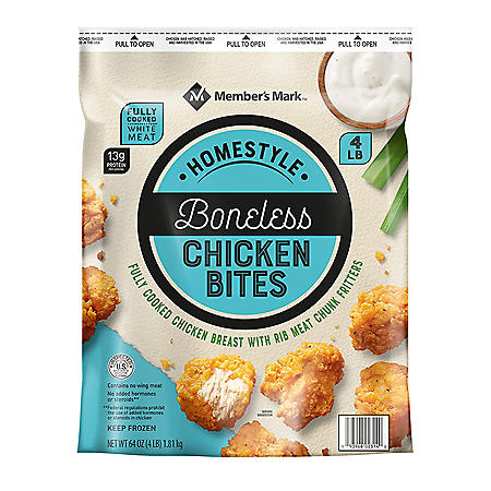 Member's Mark Homestyle Boneless Chicken Bites (4 lbs.)
