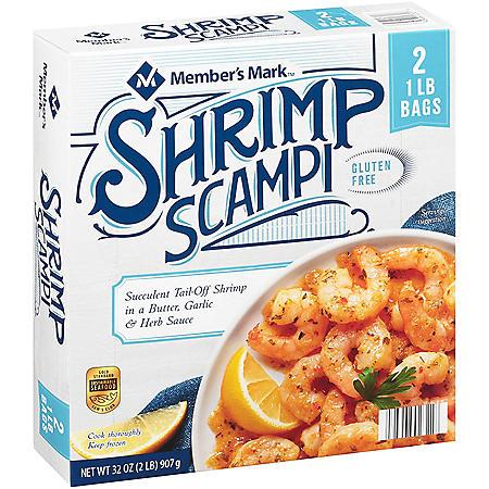 Member's Mark Shrimp Scampi, Frozen (32 oz.)