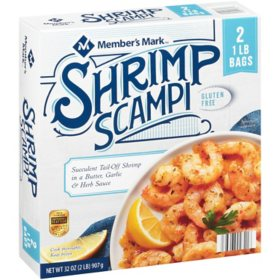 Member's Mark Shrimp Scampi, Frozen (32 oz.)