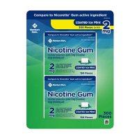 Member's Mark Nicotine Coated Gum 2mg, Ice Mint Flavor (300 ct.)