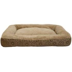 "Member's Mark Bolster Sleeper Pet Bed, 30"" x 40"" (Choose Your Color)"