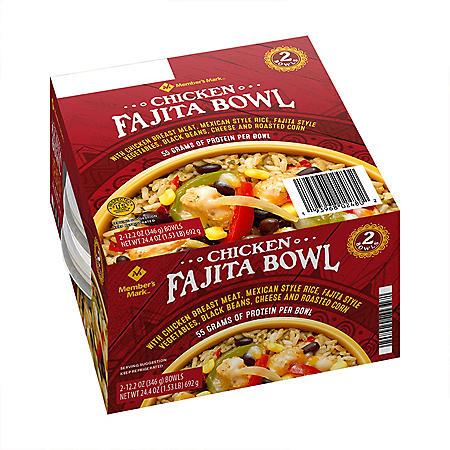 Member's Mark Chicken Fajita Bowl (2 pk.)