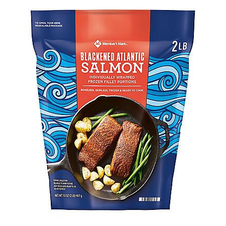 Member's Mark Blackened Atlantic Salmon Portions (2lb.)