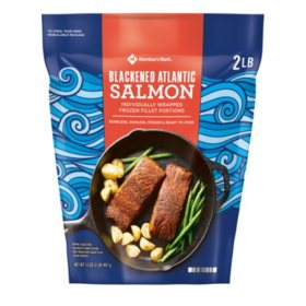 Member's Mark Blackened Atlantic Salmon Portions (2lb.)