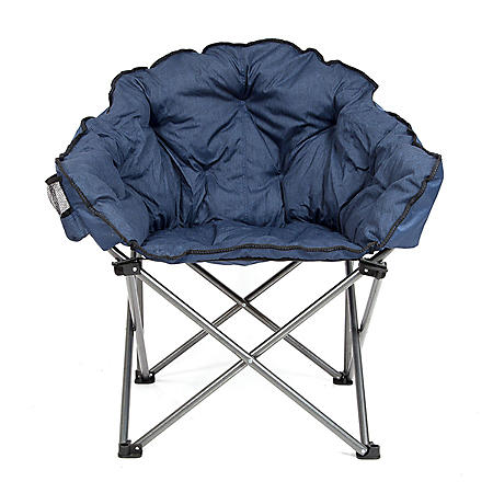 Cozy Club Chair - Choose Blue or Gray