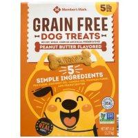 Member's Mark Grain-Free Dog Treats, Peanut Butter Flavored (5 lbs.)