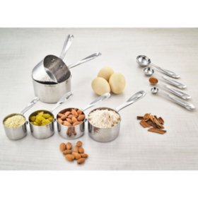 Member's Mark 10-Piece Hammered Measuring Set (Assorted Colors)