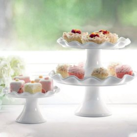 Member's Mark 3-Piece Cake Stand Set