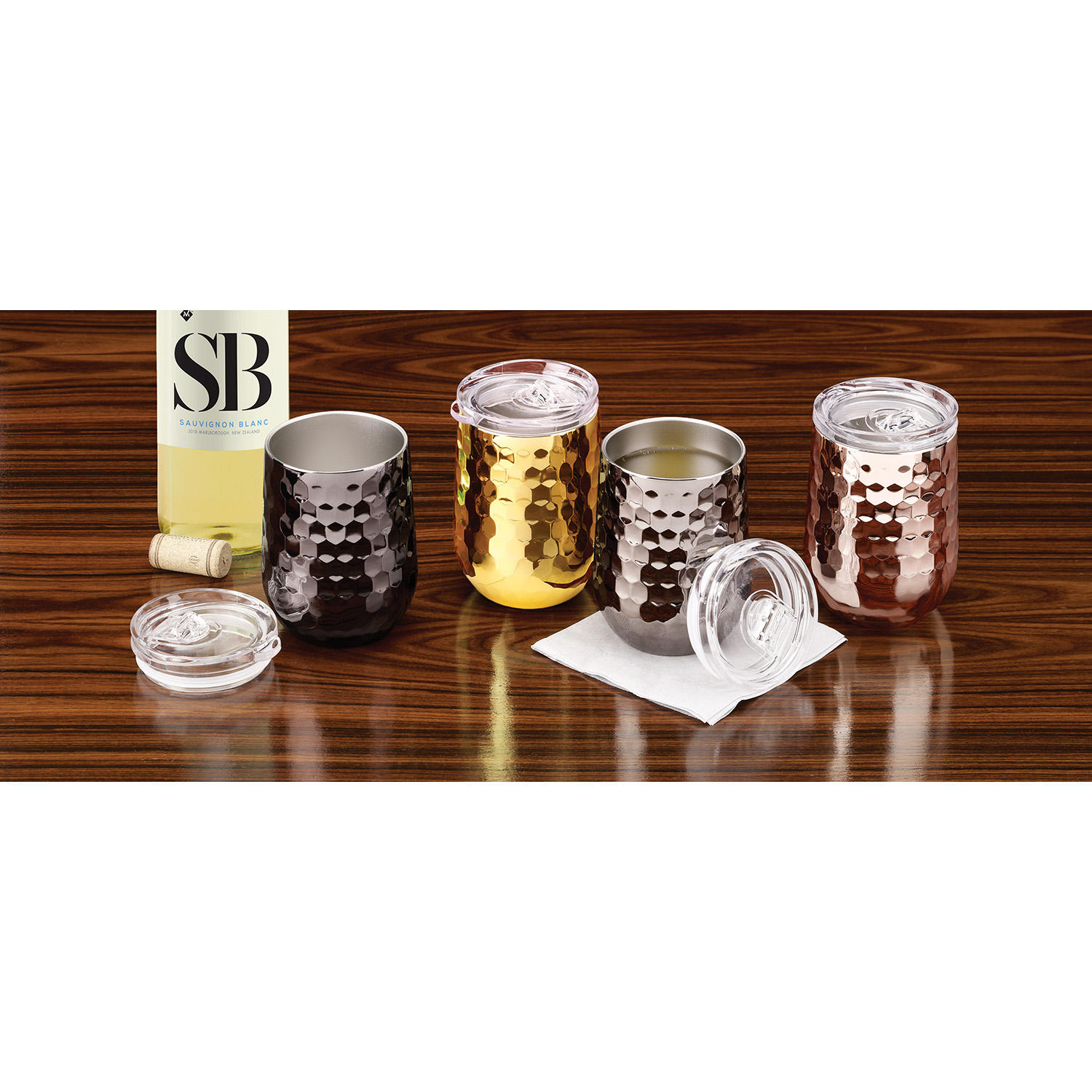 Member's Mark Insulated Wine Tumblers 4-Pack Set