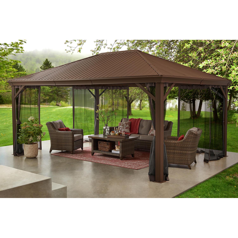 Member's Mark 12′ x 16′ Alameda Hardtop Gazebo Pavilion