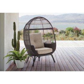 Member's Mark Stationary Egg Chair (Brown)