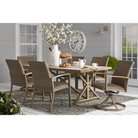 Member's Mark Agio Heartland 7-Piece Dining Set