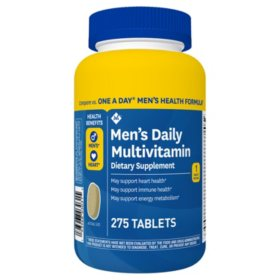 Member's Mark Men's Daily Multivitamin (275 ct.)