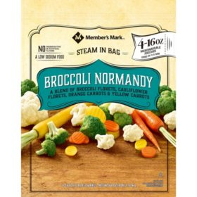 Member's Mark Broccoli Normandy, Frozen (4 lbs.)