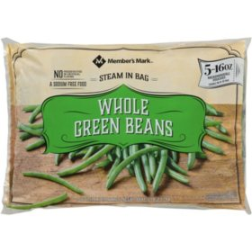 Member's Mark Whole Green Beans, Frozen (5 lbs.)