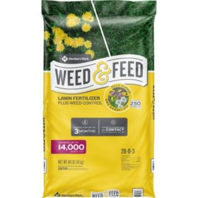 Member's Mark Weed and Feed, 28-0-3 14M