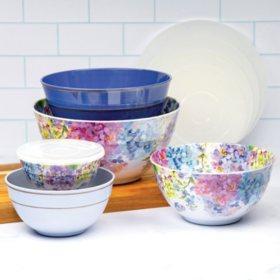 Member's Mark Melamine 10-Piece Mixing Bowl Set (Assorted Colors)
