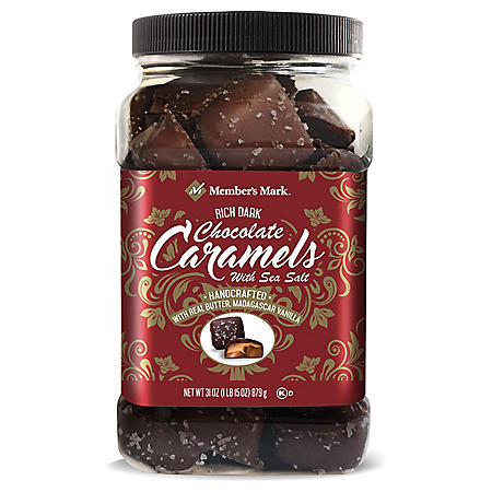 Member's Mark Dark Chocolate Sea Salt Caramels (31oz)