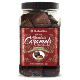Member's Mark Dark Chocolate Sea Salt Caramels (31oz.)