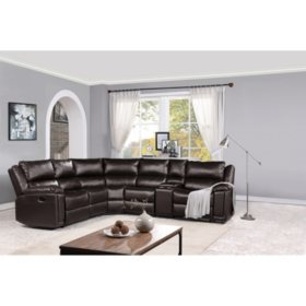 Kingston Sectional, Brown