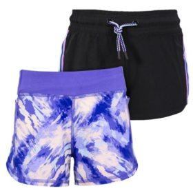 Member's Mark 2pk Girls Active Shorts